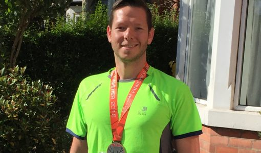 Anna Valley's Dan Orchard takes on a half marathon for event industry charity, Meeting Needs.