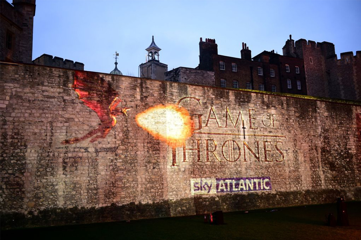 Game of Thrones Series 5 Launch