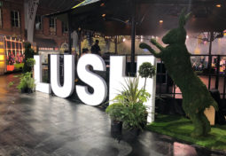 Using AV at the Lush Showcase to create a consolidated event experience