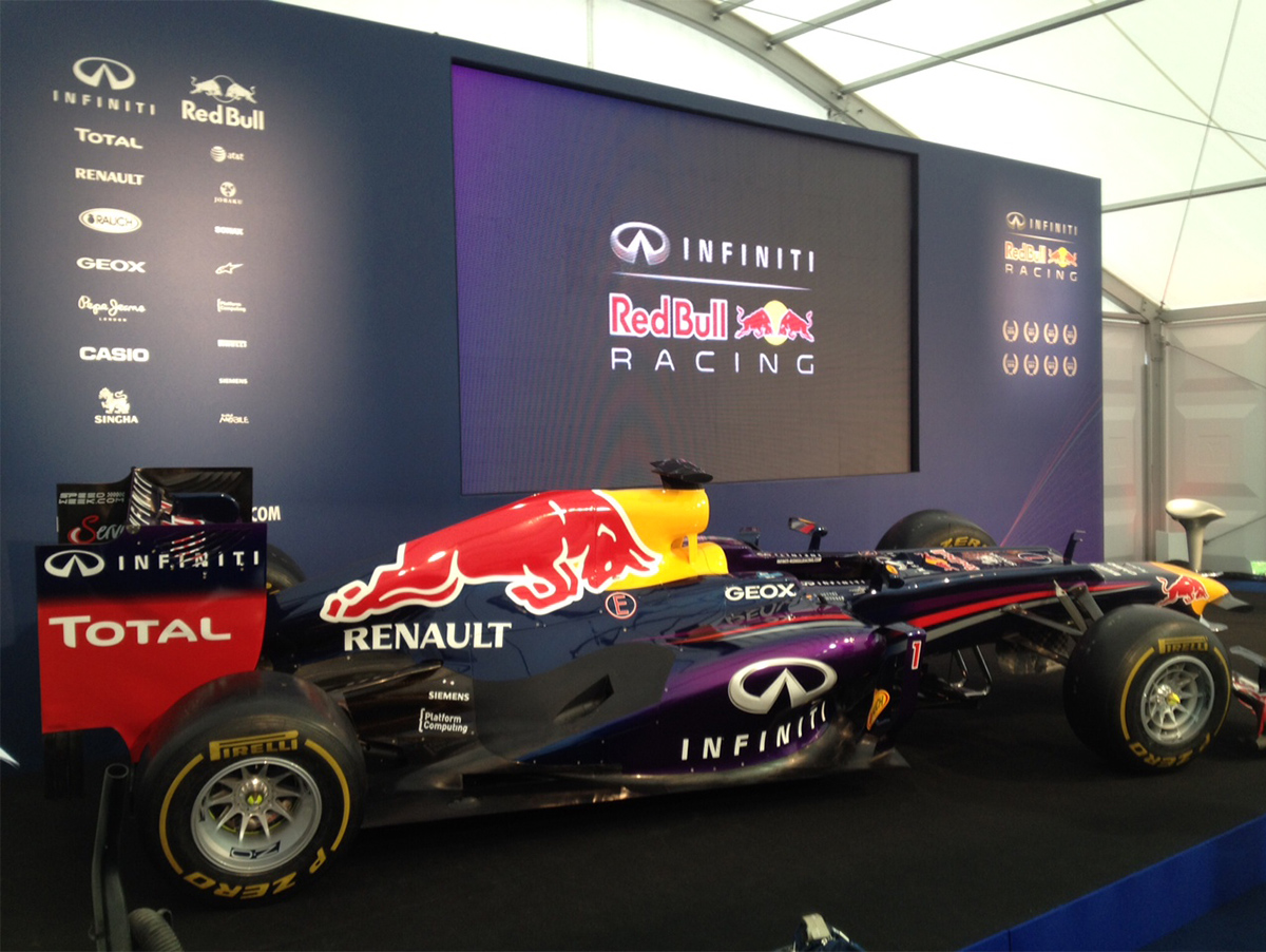 Infiniti Red Bull Racing Press Conference
