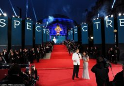 Anna Valley provides stunning AV backdrop for world premiere of new James Bond film