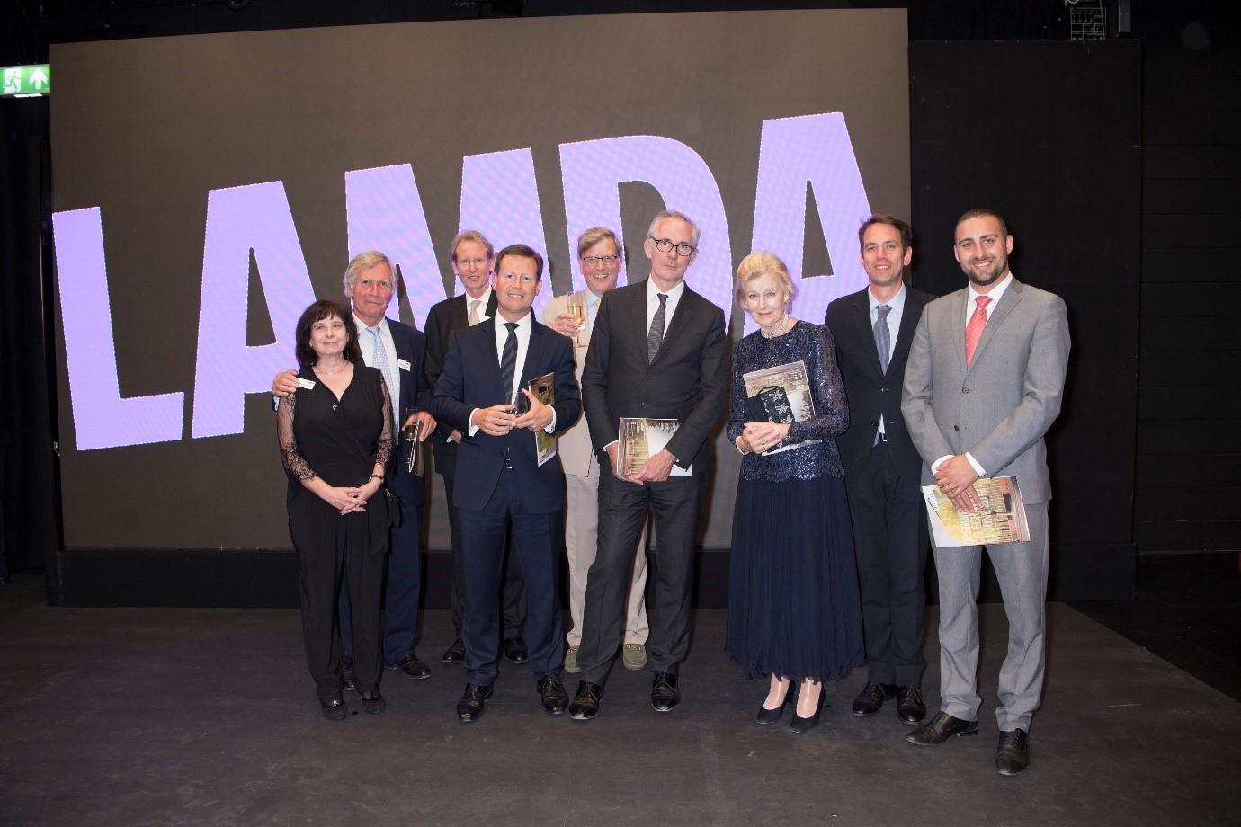 AV for star-studded opening of new LAMDA facilities