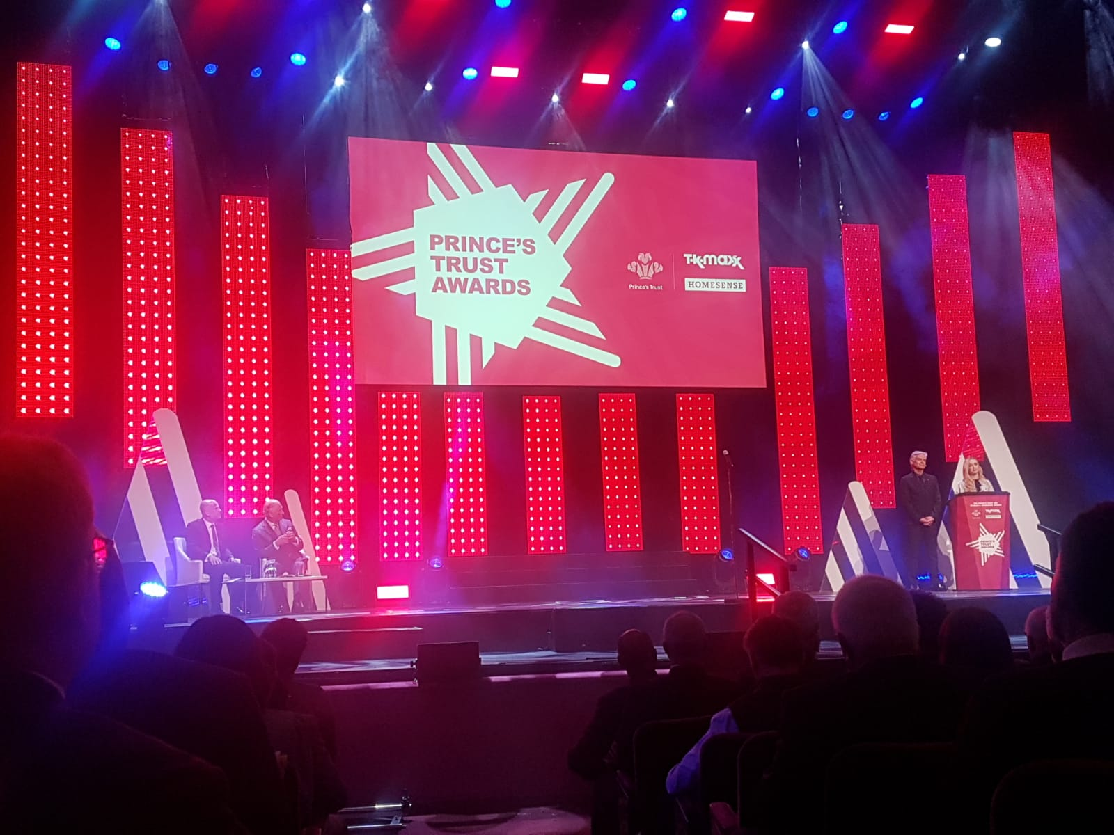 Marking our fifth year as AV supplier to National Prince's Trust and TK Maxx & Homesense Awards