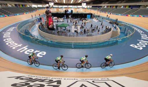 Helping LRI turn a velodrome into an event space for GOSH Charity event