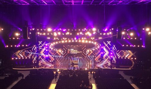 Video displays for 65th BBC SPOTY awards
