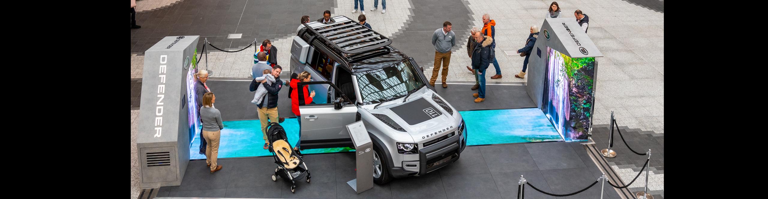 Land Rover Defender UK tour
