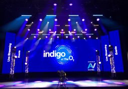 Anna Valley transforms indigo at The O2  into a live streaming venue