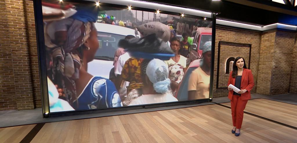 Manoto news digital screens by Anna Valley