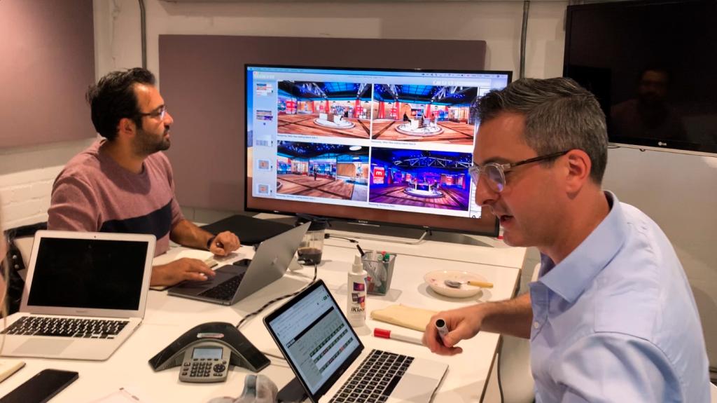Manoto broadcast studio design planning