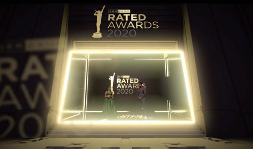 An extended reality set for GRM Daily Rated Awards