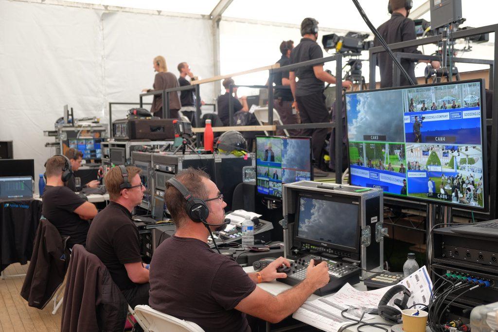 hybrid live event technology