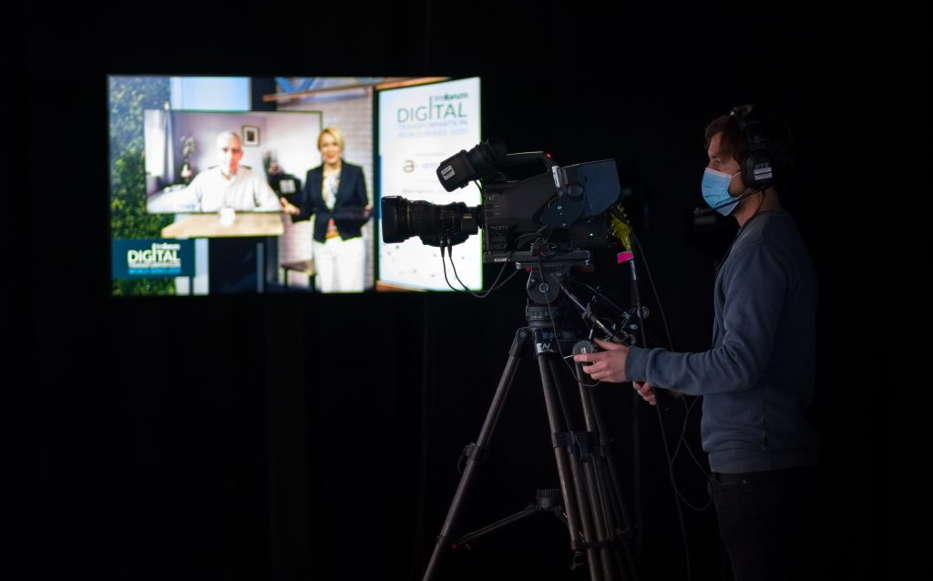Shooting a virtual conference 2020