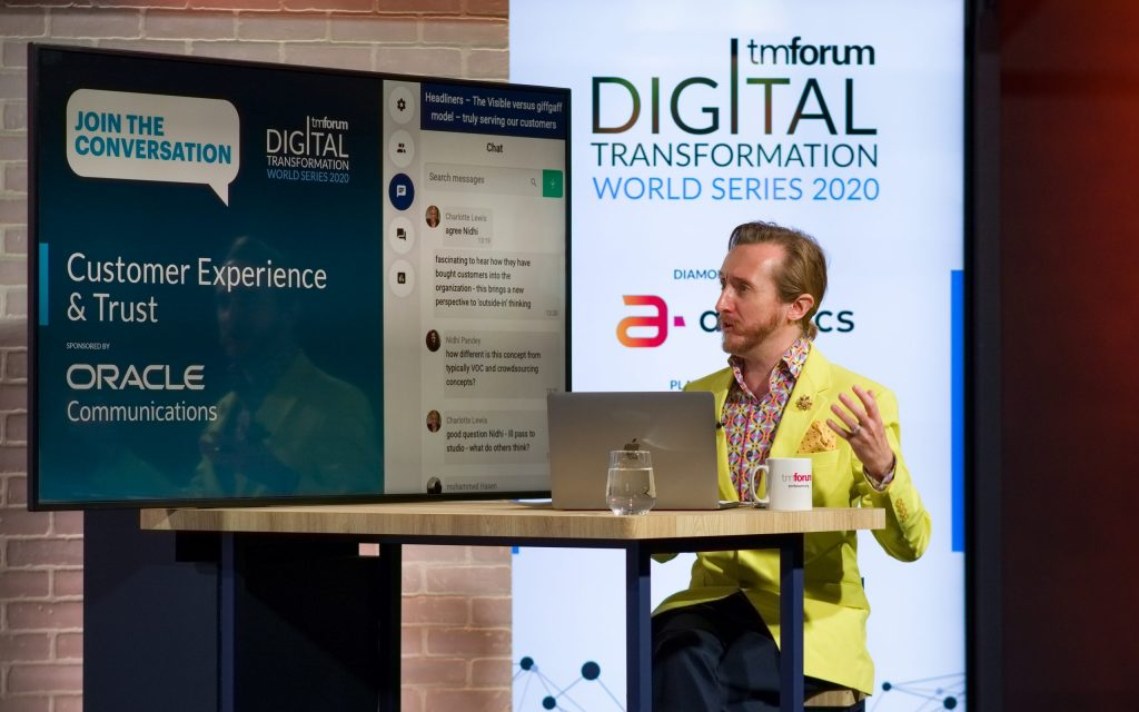 Digital Transformation World Series virtual conference