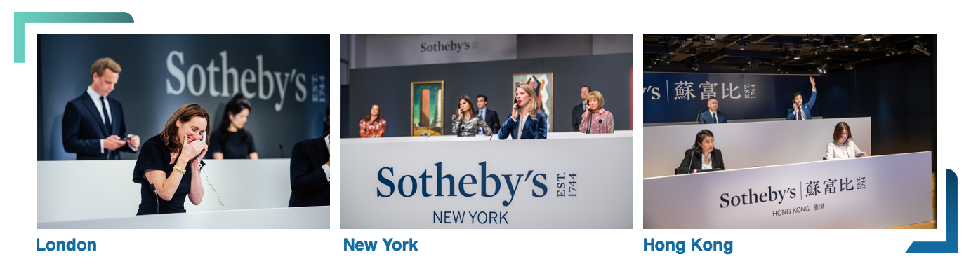 Sotheby's international bidders