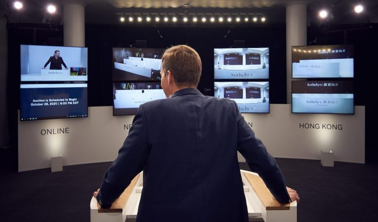 Sotheby's auction of the future