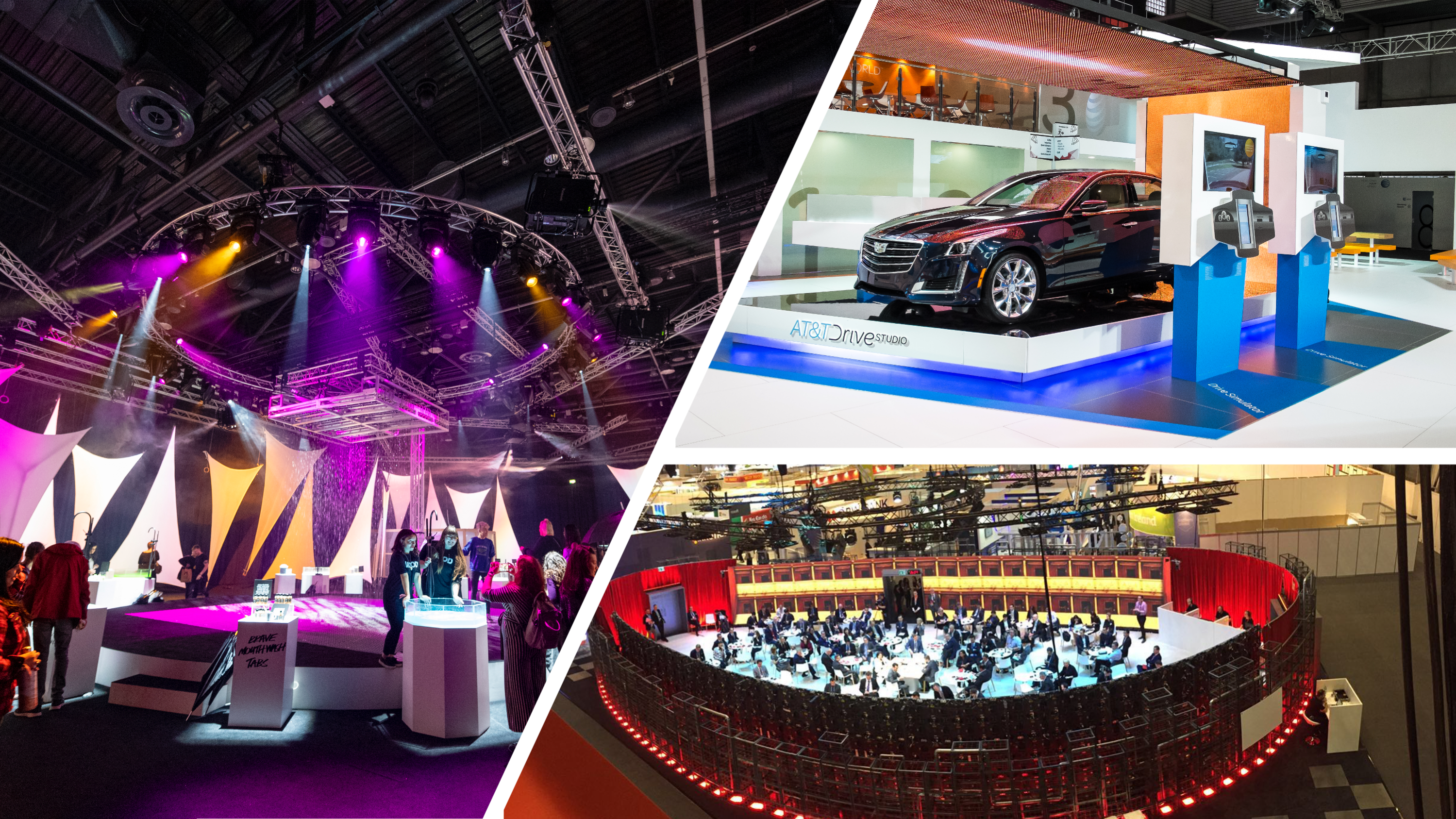 audio visual for venues exhibitors
