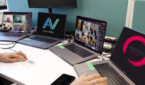 Helping Crescendo deliver a one-of-a-kind virtual event that could not go wrong