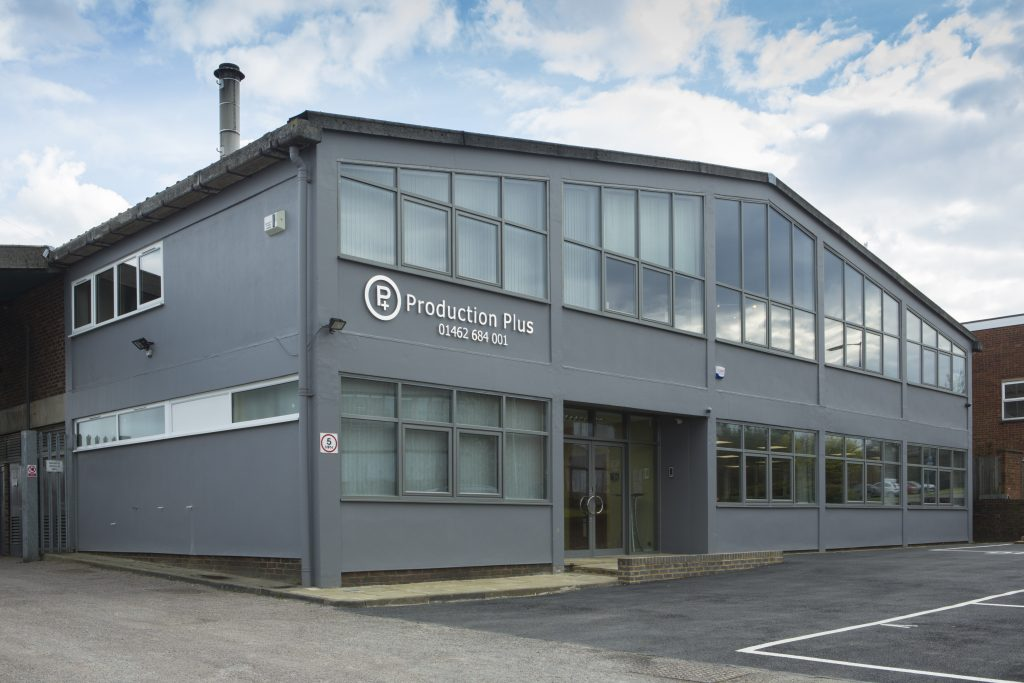 Production Plus warehouse in Hertfordshire