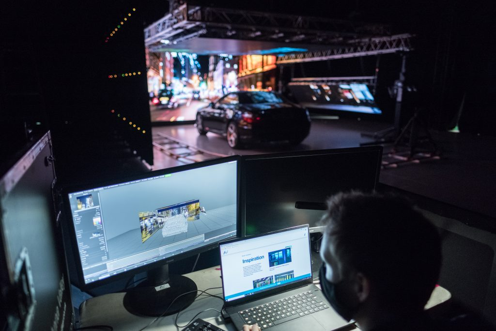 The technology behind virtual production sets