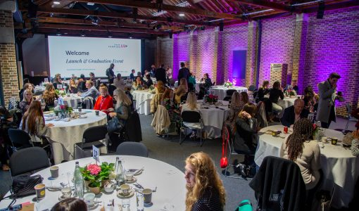 Anna Valley and Tobacco Dock provide hybrid event solution for FF15 Graduation 21 event.