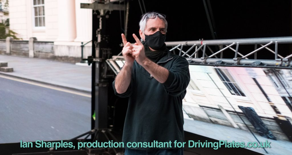 Ian Sharples production consultant for DrivingPlates.co.uk