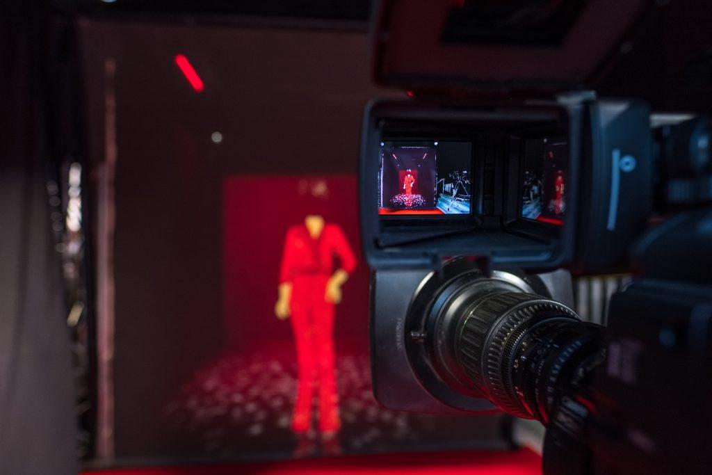 Interactive hologram technology at the BAFTA TV Awards 2021