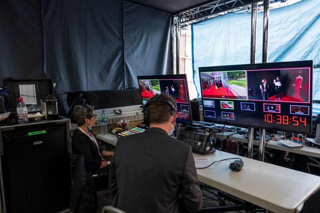 interactive holograms at the BAFTA TV Awards