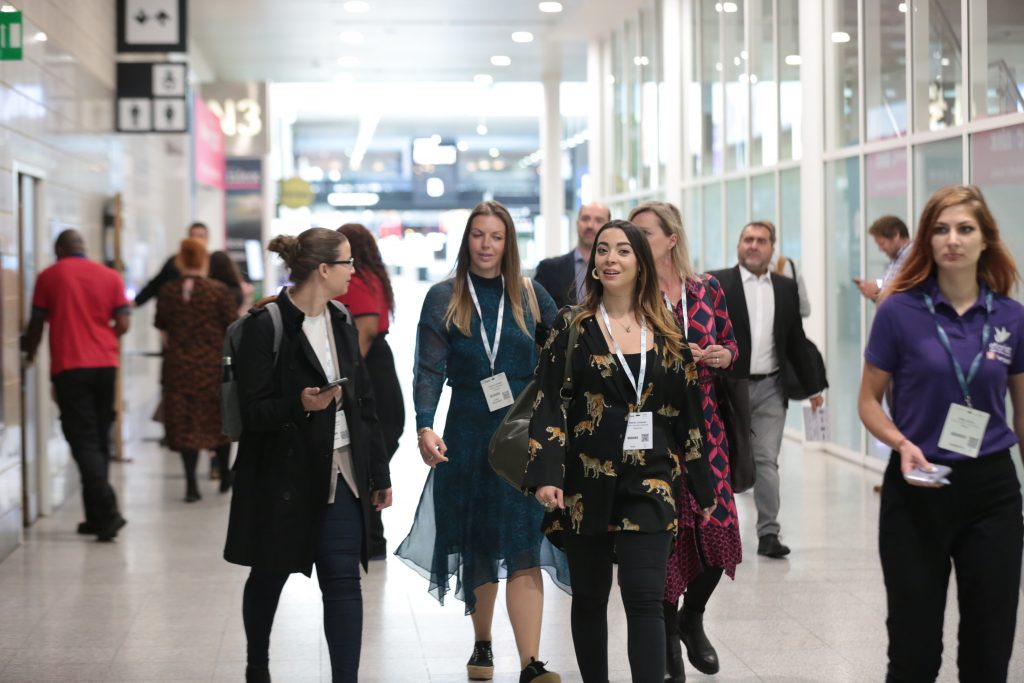 visitors to International Confex 2021